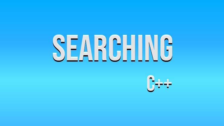 Searching Pada C Pengertian Dan Contoh Program Pintarkom