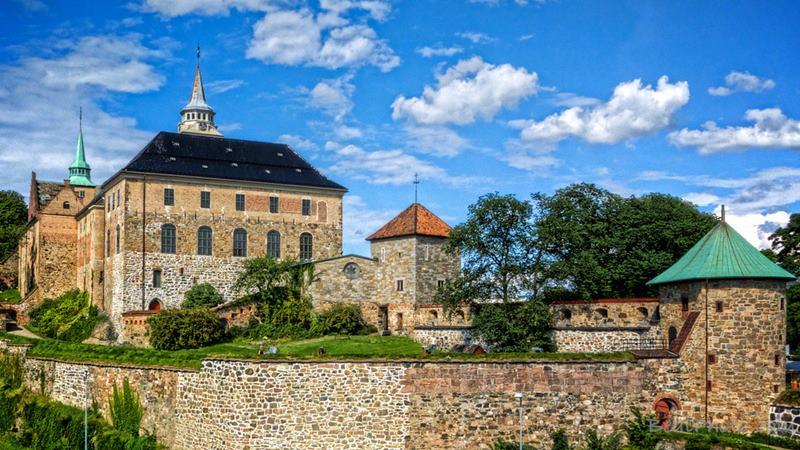 Kastil Arendelle berasal dari Akershus Fortress