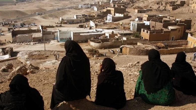 Desa Al Samaha, di Edfu, Mesir