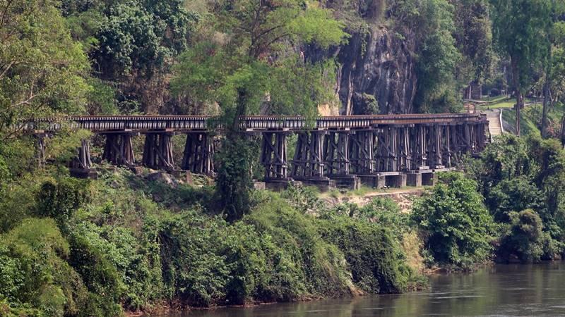 Death Railway Kanchanaburi, Thailand