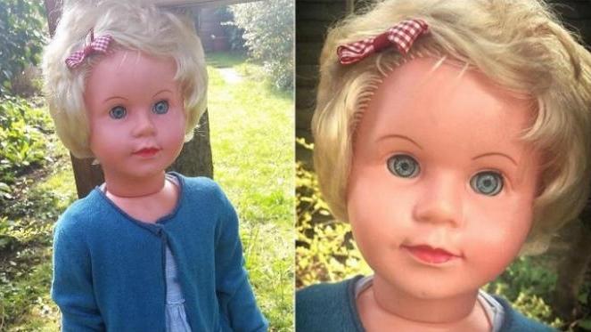 Boneka Peggy membuat mual penonton