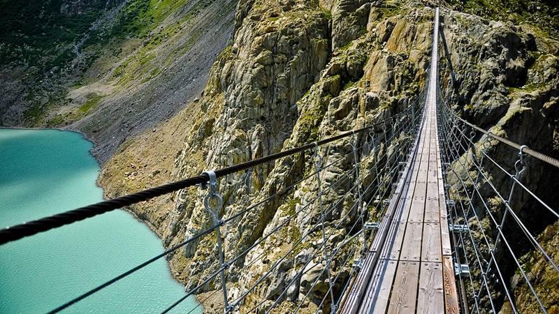 Trift Bridge, Swiss
