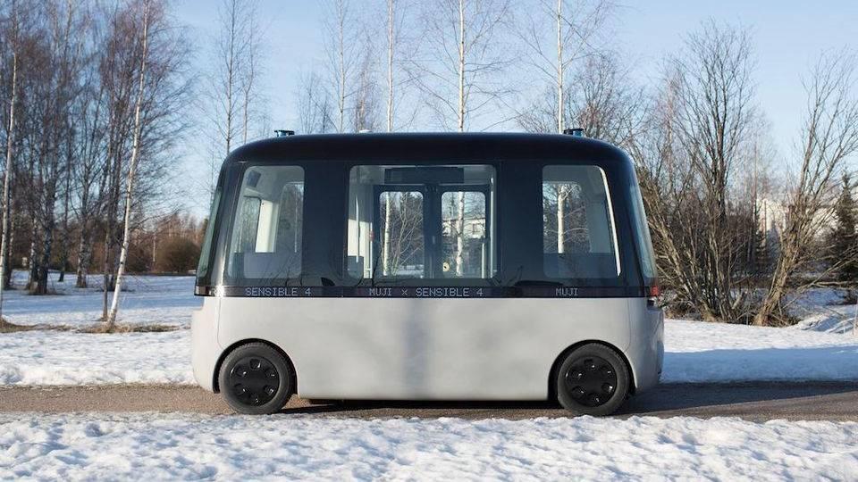 Bus dengan jaringan 5G