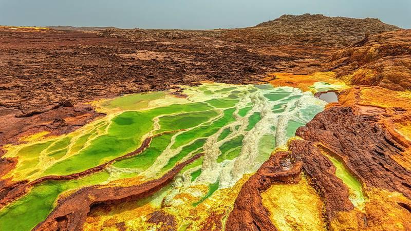Dallol, Kota Mars yang terjebak di Bumi