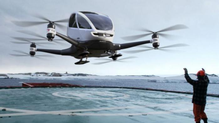 Mobil drone, Ehang 184