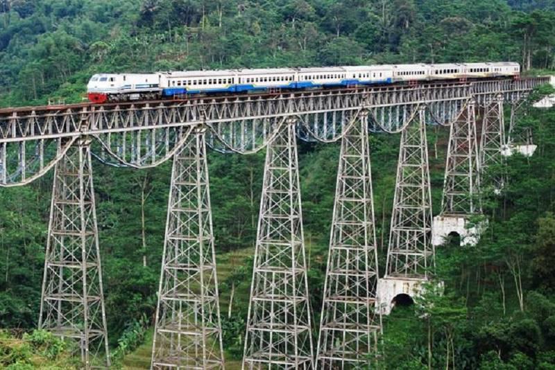 Jalur Argo Gede, Indonesia