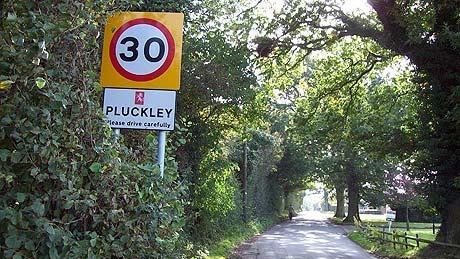 Desa Pluckley di Inggris