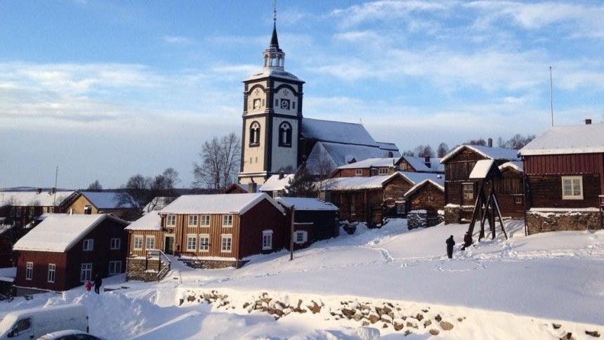Røros, kota tambang inspirasi negeri salju