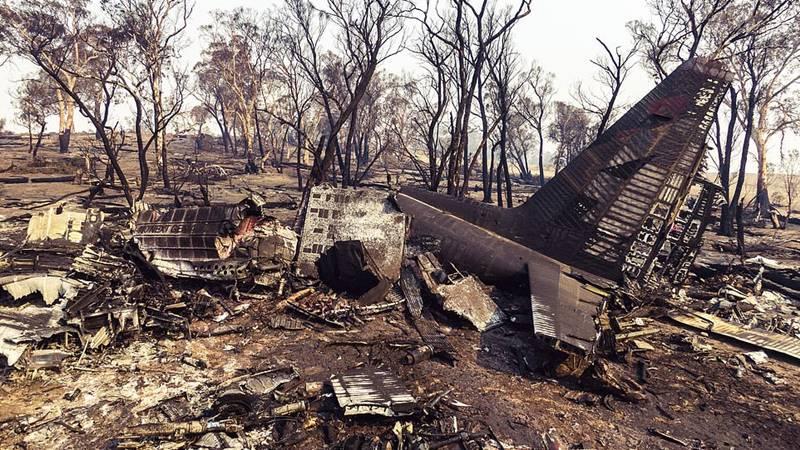 Pesawat pemadam kebakaran hutan jatuh di Australia (23 Januari 2020)