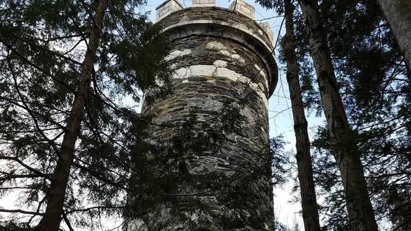 Menara Brattleboro Retreat, Vermont, Amerika