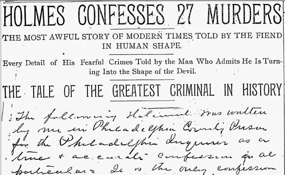 Akhir petualangan keji H. H. Holmes