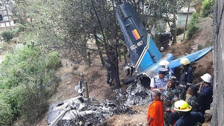 Kecelakaan pesawat militer Sri Lanka (3 Januari 2020)